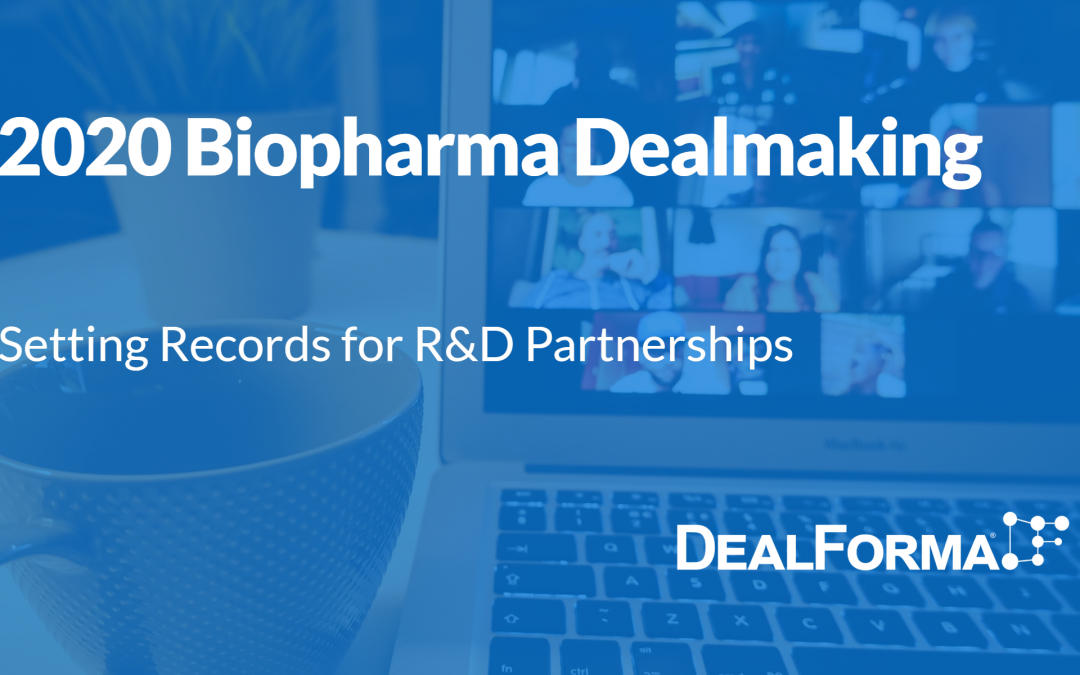Biotech and Pharma Deals in 2020