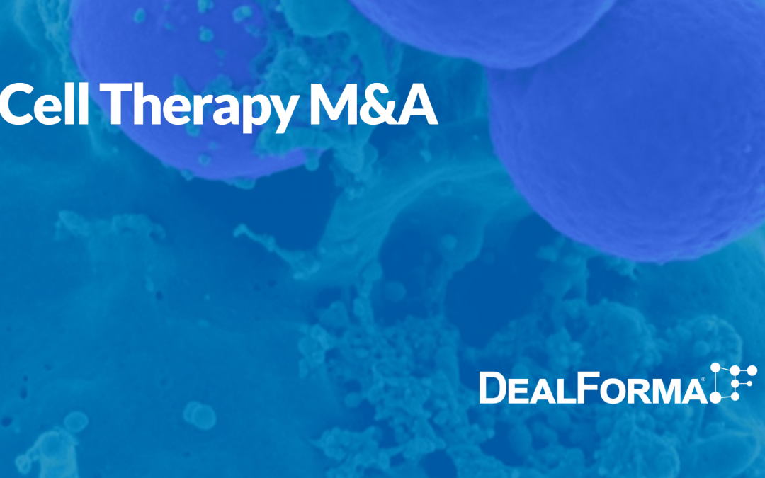 Cancer Cell Therapy M&A